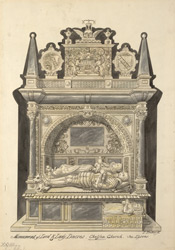Monument of Lord & Lady Dacres, Chelsea Church